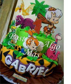 Tortas de los Picapiedras - The Flintstones Cake