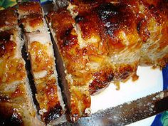 Justin Wilsons Pork Roast, w/ Jalapeno peppers
