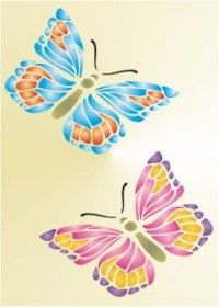 Free Printable Butterfly 2