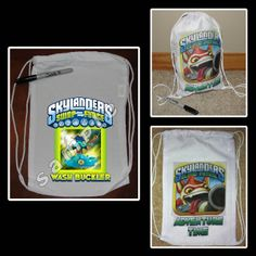 SKYLANDERS SWAP FORCE MINI DRAWSTRING SPORT PACK