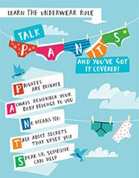 Image of Underwear Rule child-friendly guide - English
