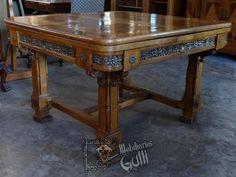 Mobiliarios Galli Biedermeier Antiguo Comedor Origen Italia $17,009.15 USD Argentina Muebles Antiguos