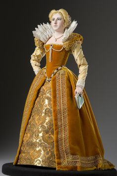 Full length color image of Marguerite de Valois aka. Margaret of France, by George Stuart.