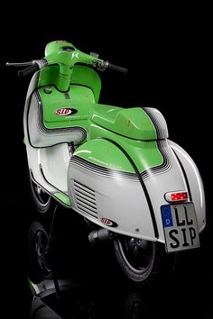SIP Glorious Basterd Custom Vespa