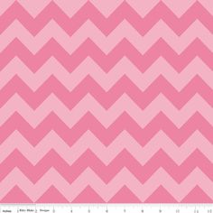 Riley Blake Designs - Chevron - Medium Chevron Tone on Tone in Hot Pink