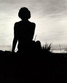 Girl by the beach, Stinson, circa 1970 (photo: Jim Stipovich)