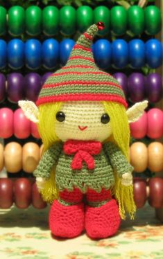 Amigurumi girl Elf by kandjdolls