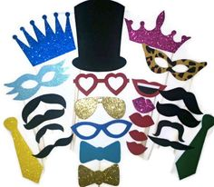 Photo Booth Props / Wedding photo booth props / by FoamyFactory, $35.00