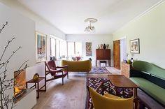 beautiful home full of danish furniture