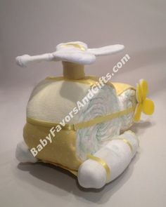 diaper cake helicopter, helicopter baby shower, stuff, diapers, helicopt diaper