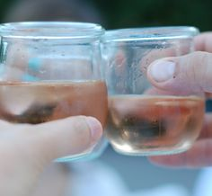 Ah, summer.  Time for a little rosé.  From One tomato, two tomato.