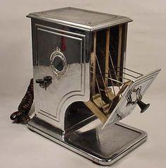 VINTAGE ART DECO UNIVERSAL ELECTRIC TOASTER vintage art deco, electr toaster, art nouveau