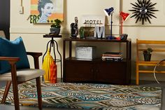 Do you dig this Urban Funk room, styled with undeniable funk and soul?    Find out what type of home decor style you have by taking our Stylescope quiz. Click here!