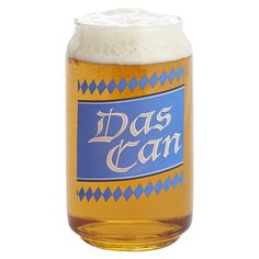 Das Can - Aluminum Can Shaped Beer Glass