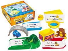 Positional Words Resource Box