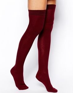 Image 1 of ASOS Over The Knee Socks
