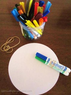 Drawing in Bunches. Fine motor, hand-eye coordination & creativity