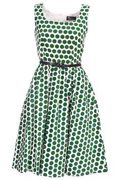 Elise Polka Dot Dress