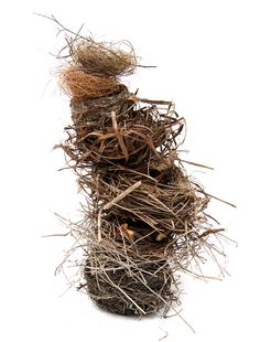 artpropelled:  Stacked Nests by Mary Jo Hoffman