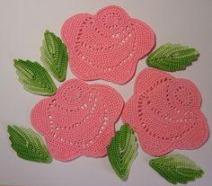 crochet tutorials for roses