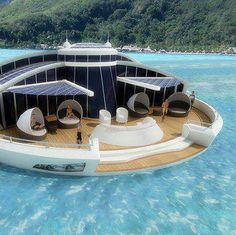 Awesome Solar-Powered floating Resort