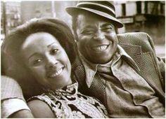 James Earl Jones & Diahann Carroll in Claudine. 1974.