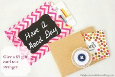 DIY gift card pouches
