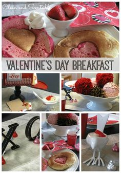 Fun Valentine's Day Breakfast