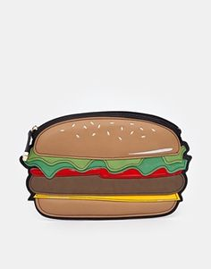 New Look Burger Clutch Bag