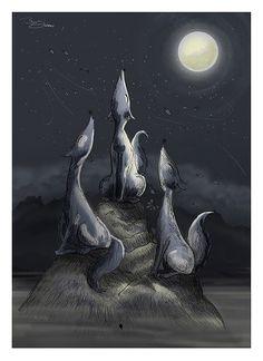 """Moon Choir"" by Bayu Sadewo"
