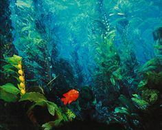underwater+painting | underwater painting© oil on canvas