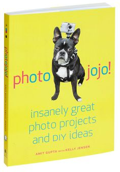 Photojojo by Amit Gupta and Kelly Jensen. Filled with tons of cool photo centric activities. Must buy for every youth org.