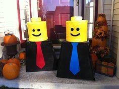 How to lego halloween costume!