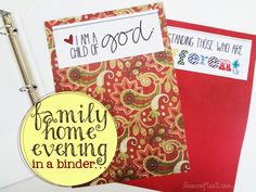 organizing family home evening kits.  And if you are making one - why not a couple.  Great gift idea for Sisters or Sisters-in-Law.