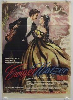 "The Eternal Waltz (1954) ""Ewiger Walzer"" (original title) Stars: Bernhard Wicki, Hilde Krahl, Annemarie Düringer ~  Director: Paul Verhoeven"