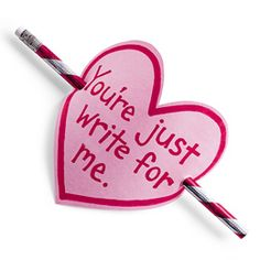 "The ""Write Card"" for valentines"