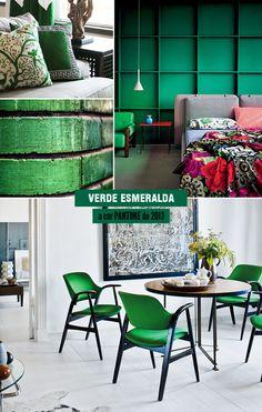 emerald green #pantone #emeraldgreen #decor #green