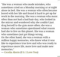 P.s. I love you book quote