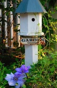 Garden Bird House!