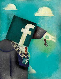 Sense adonar-se'n... podem fàcilment substituir la dependència d'una religió per la dependència cibernètica.    Les xarxes socials són fòrums a internet que poden crear addicció, per exemple Facebook o Twitter. Estem en contra de qualsevol dependència i apostem per la llibertat i la crítica. Tot té la seua mesura i el seu equilibri.