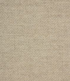 Simple and soft wool fabric perfect for curtain material or to bring an old chair or sofa back to life. Lovely herringbone texture. Coordinates with Skye Wool fabric. Buy online or visit us in Cheltenham or Burford to view this gorgeous wool and our full range of discounted clearance fabrics.