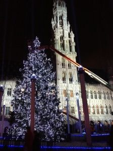 Christmas in Brussles, Belgiums' Town Hall