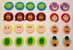 cupcak idea, toy stori, cupcake toppers