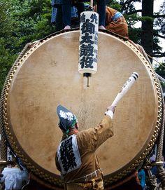Taiko Drum くらやみ祭り Japan