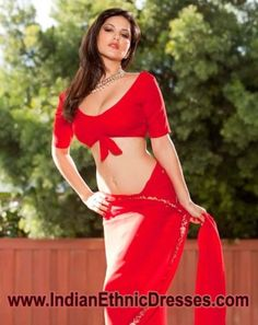 Pin by Indian Dresses on Red Saree | Pinterest