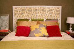 DIY headboard diy crafts, diy headboards, hous, morocco, doormats, guest rooms, bedroom, west elm, floor mats