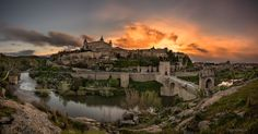 Explosion of Light in Toledo by Darío Sastre on 500px