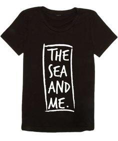 The Sea And Me T-Shirt   Billabong US