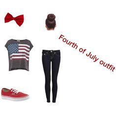 4th of july junior tops