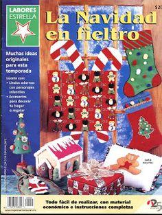 REVISTAS DE MANUALIDADES GRATIS: Revista fieltro